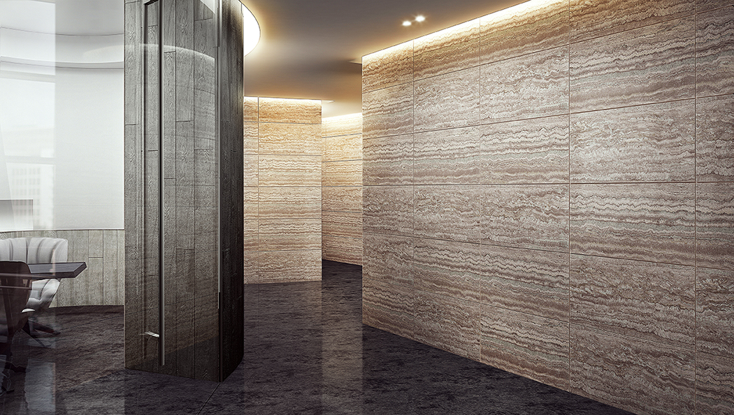 Pieno 488 Platinum Travertine
